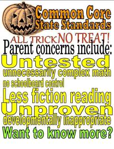 We know CCSS is a horror!