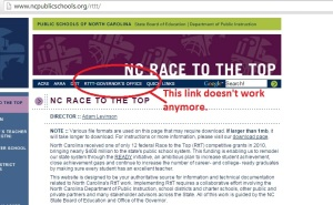 Don't let a broken link deter your search for how the RttT money is still bringing CCSS to our students/teachers.