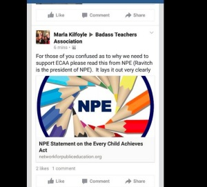 NPE has come out in support of ECAA.