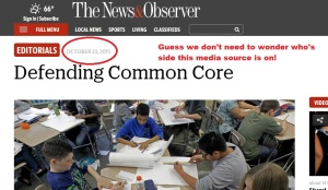 Gone of the journalist days where objectivity was reported! Media selling out the CCSS Machine isn't new or exclusive to the 'big' sources.