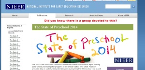 To learn more about PreK research, visit: http://nieer.org/